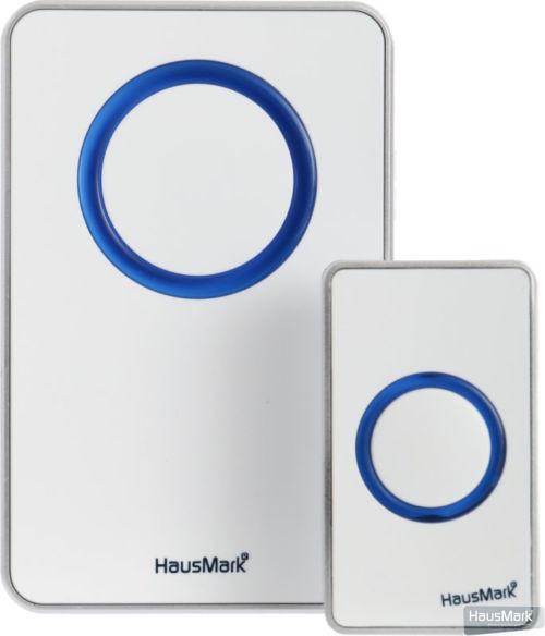 Звонок беспроводной HausMark белый WSD-912-BL11