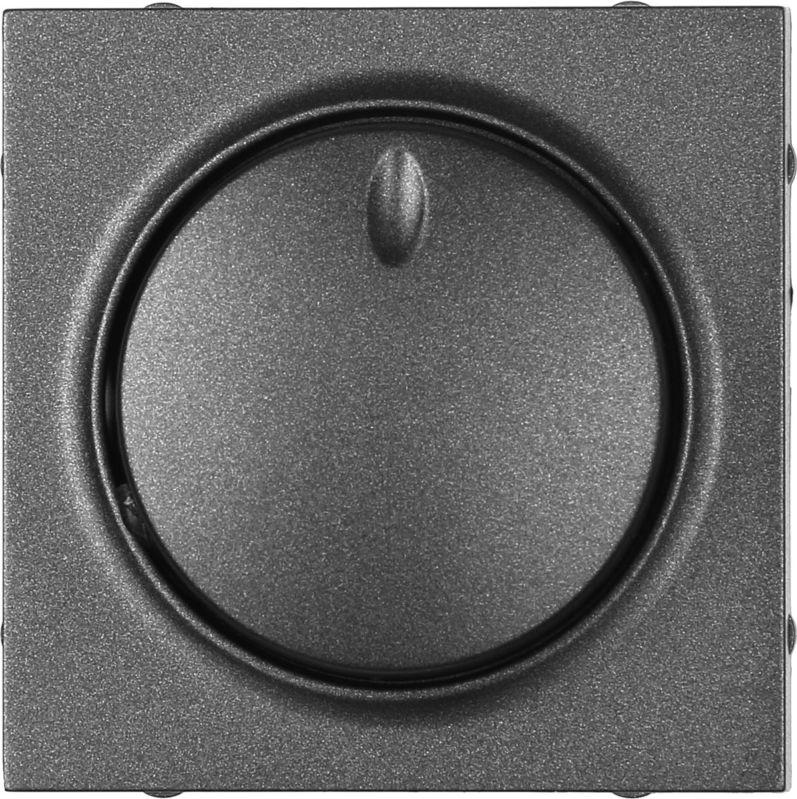 Панель светорегулятора HausMark Alta SNG-SWP.SQ20MG1D-BK IP20 черный SNG-SWP.SQ20MG1D-BK