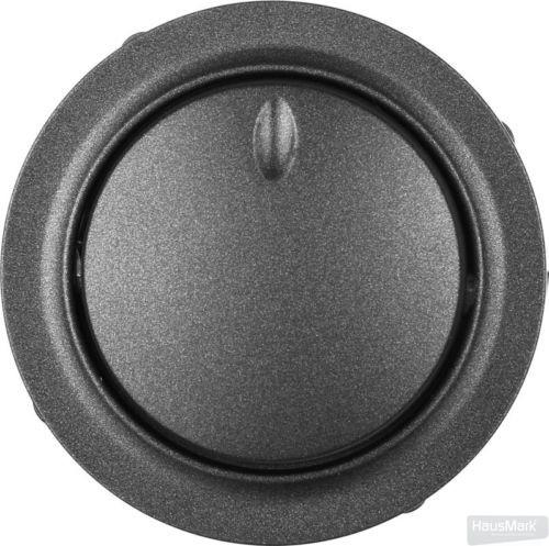 Панель светорегулятора HausMark Bela SNG-SWP.RD20MG1D-BK IP20 черный SNG-SWP.RD20MG1D-BK