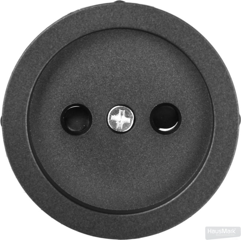 Накладка на механизм розетки HausMark Bela черный SNG-SCP.RD20MG1WTG-BK