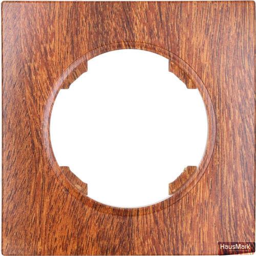 Рамка HausMark Bela горизонтальная орех SNG-FRP.RD20G1-9/Walnut