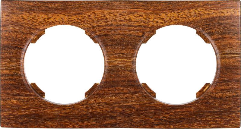Рамка четырехместная HausMark Bela горизонтальная дуб SNG-FRP.RD20G4-6/Oak