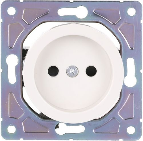 Розетка HausMark Bela с крышкой кремовый SNG-SCP.RD20MG1WTG-CR