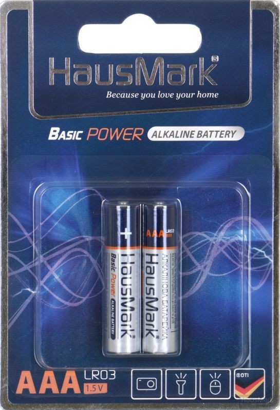 Батарейка HausMark Basic Power ААА 2 шт. (MST-AL2ААА)