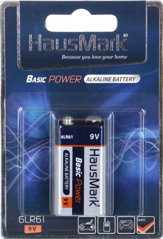 Батарейка HausMark Basic Power 6LR61 1 шт. (MST-1AL9V)
