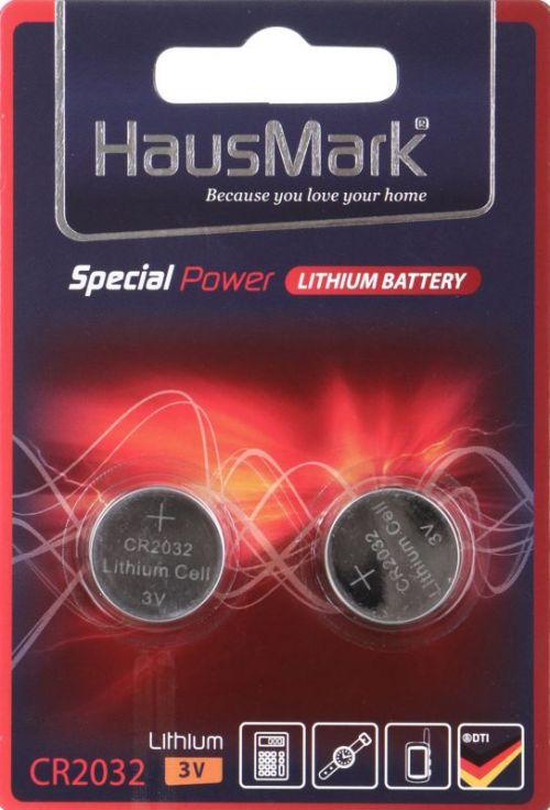 Батарейка HausMark Special Power CR2032 2 шт. (MST-2LI2032)