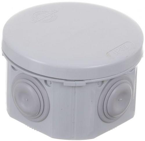 Коробка распределительная с крышкой HausMark пластик IB004