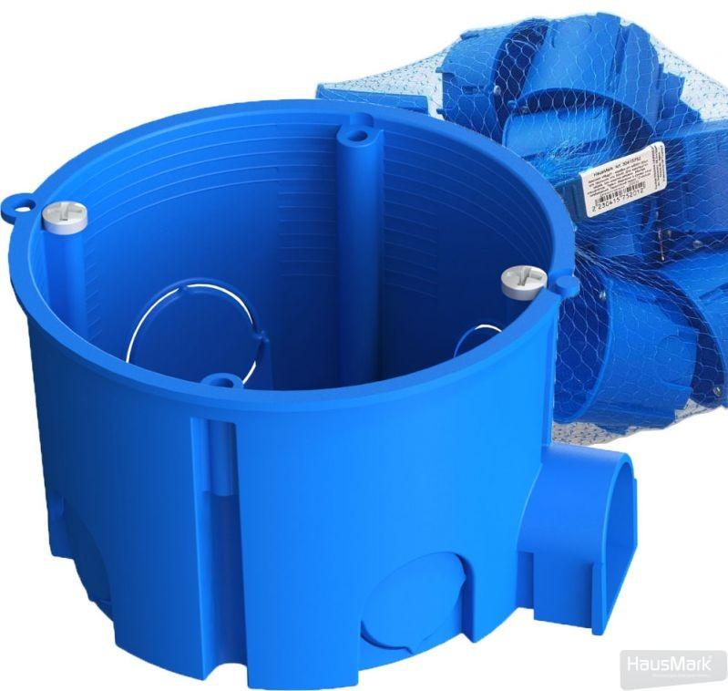 Комплект коробок установочных HausMark 65x45 для сплошых стен 20 шт./уп. полипропилен МВag01