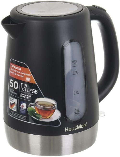 Электрочайник HausMark EK-1714 черный
