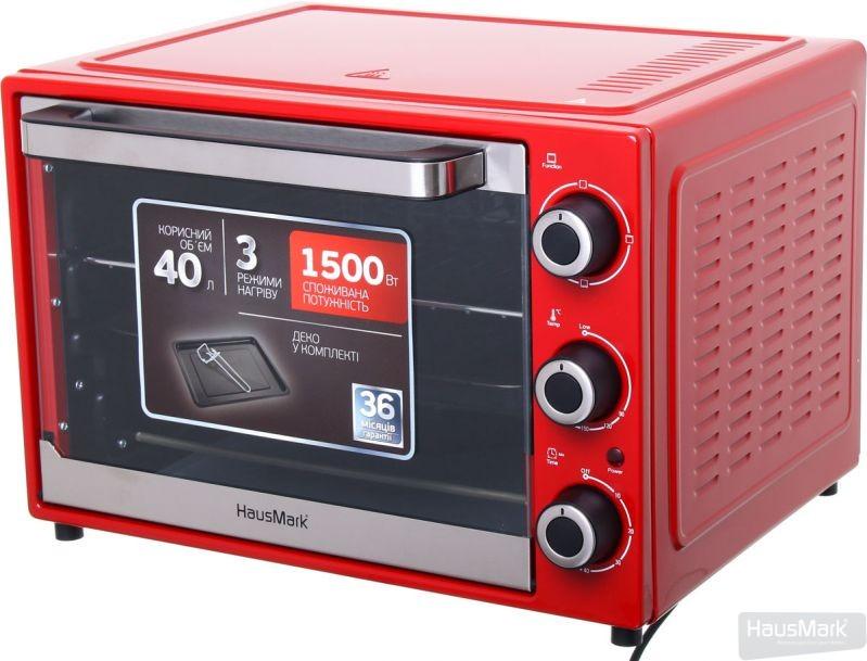 Электрическая печь HausMark EOI-4015RD