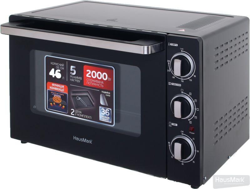 Электрическая печь HausMark EOI-4620BK