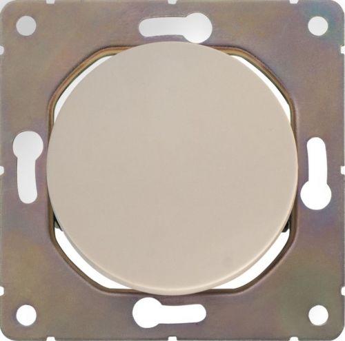 Выключатель одноклавишный HausMark Bela без подсветки 10 А 220В кремовый SNG-SWP.RD20MG1W1-CR