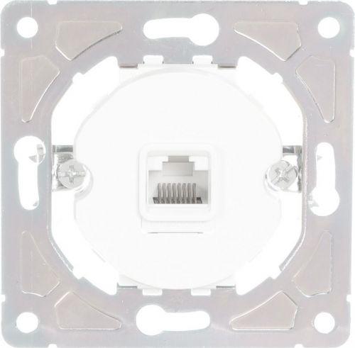 Розетка компьютерная HausMark Bela белый SNG-SCP.RD20MG1PC-WH